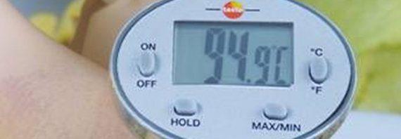 A vízhőmérséklet mérésének fontossága
